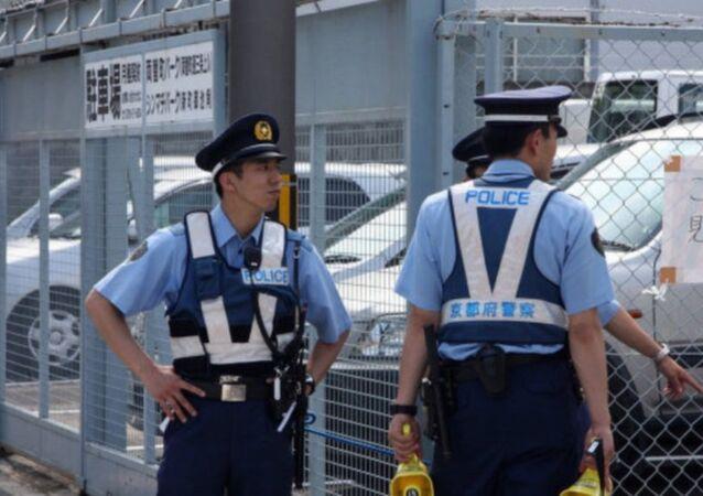 شرطة يابانية