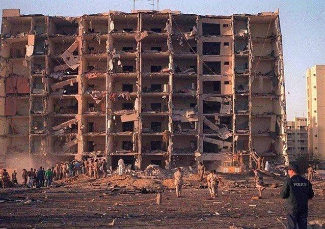ابراج الخبر بعد تفجيره عام 1996