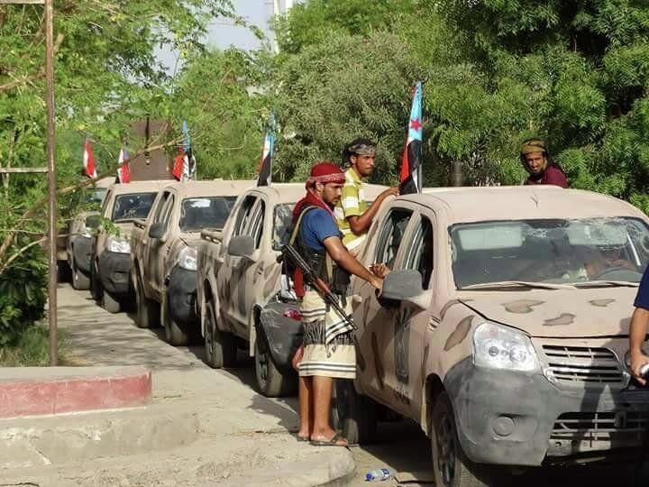 المقاتلون الجنوبيون ينتشرون في عدن