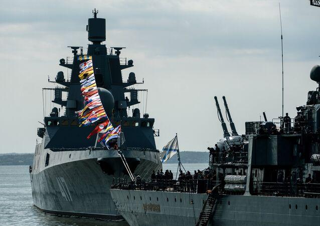 الفرقاطة الجديدة النووية الأميرال غورشكوف