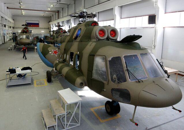 تجهيز طائرات الهليكوبتر بجهاز الإعاقة التشويشية ريتشاغ