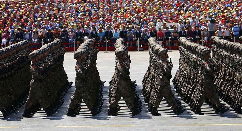عرض عسكري في بكين بمناسبة الذكرى الـ70  لانتهاء الحرب العالمية الثانية