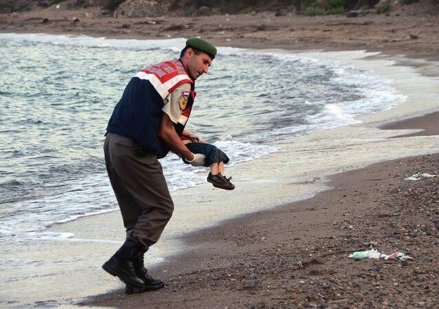 الطفل السوري أيلان كردي