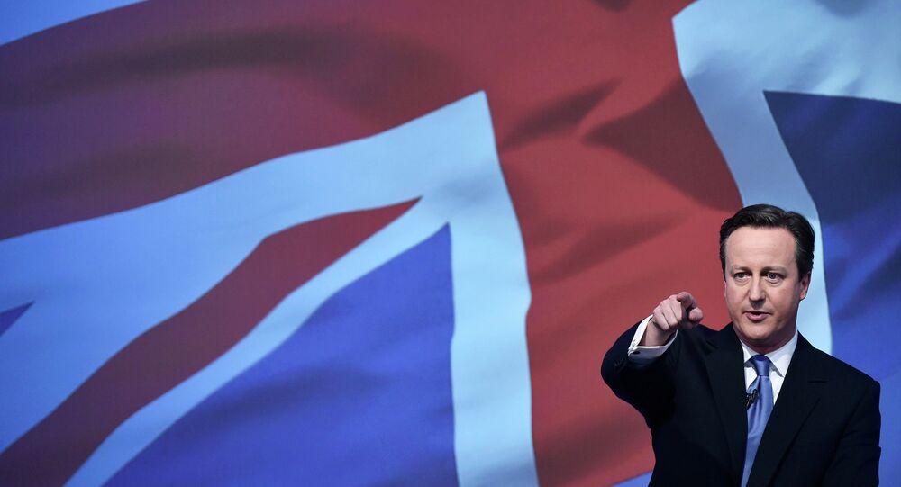 ديفيد كاميرون رئيس الوزراء البريطاني