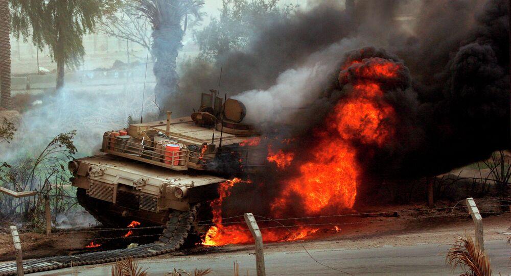 دبابة أبرامز الأمريكية
