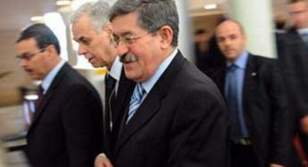رئيس ديوان رئاسة الجمهورية الجزائرية أحمد أويحيى