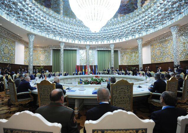 اجتماع قادة منظمة الأمن الجماعي
