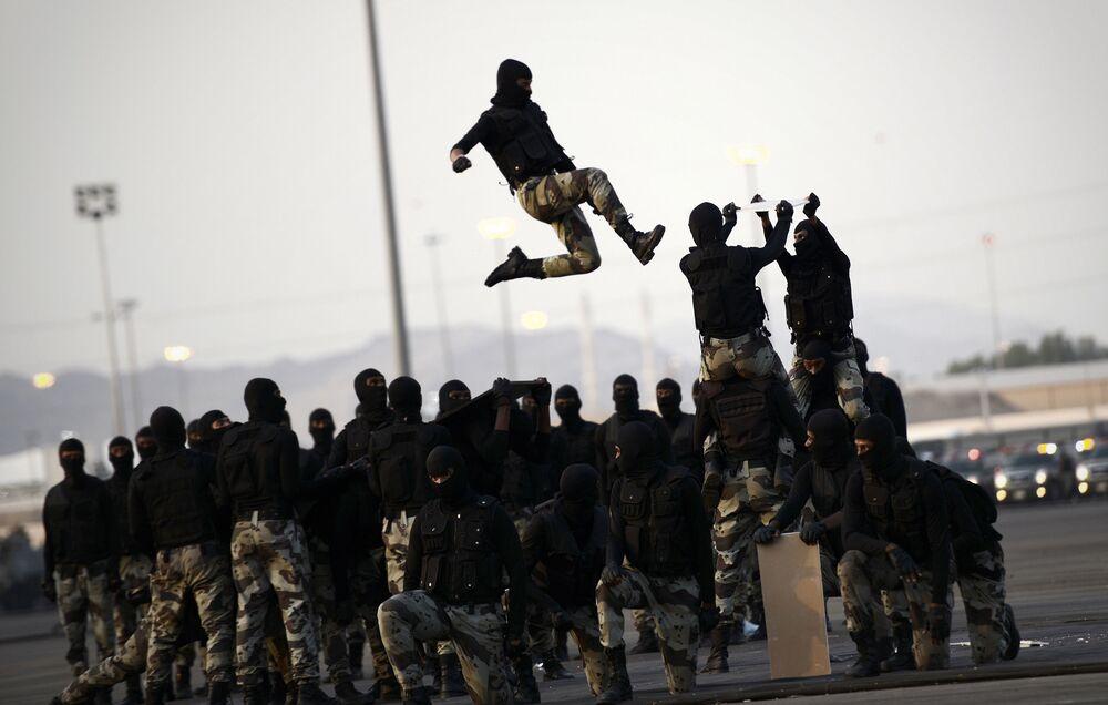 قوات الشرطة الخاصة السعودية