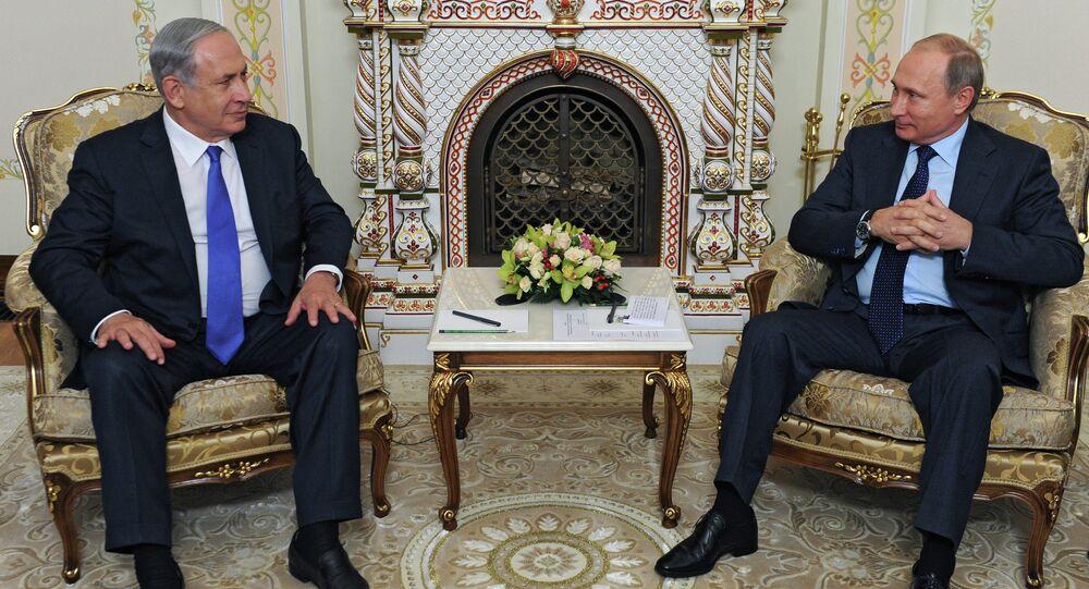 لقاء بوتين ونتنياهو