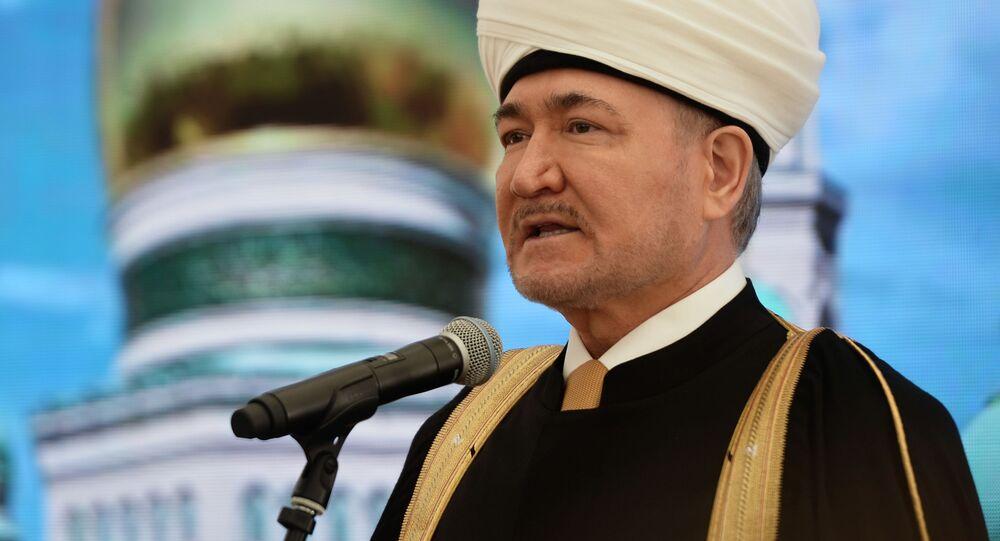 رئيس مجلس المفتين في روسيا راوي عين الدين