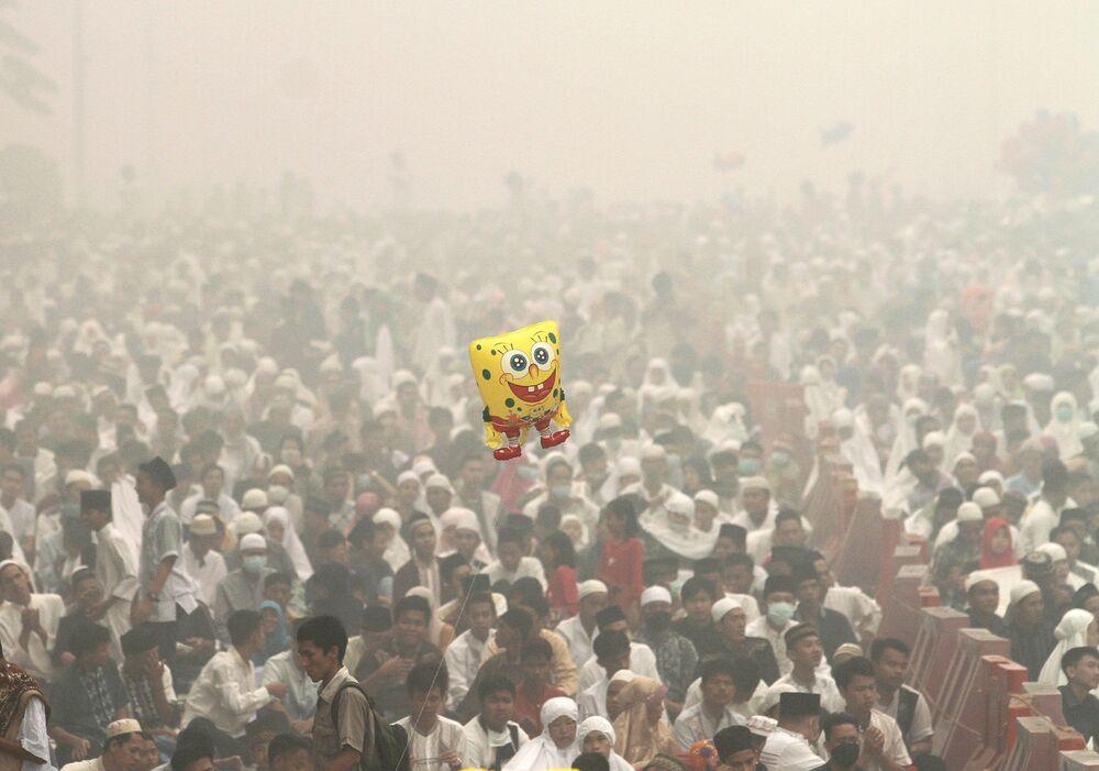 الاحتفال بعيد الأضحى في إندونيسيا