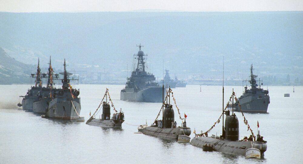 ميناء سيفاستوبول بشبه جزيرة القرم