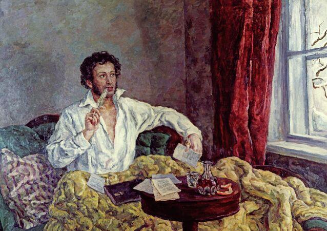 الكاتب الروسي ألكسندر بوشكين