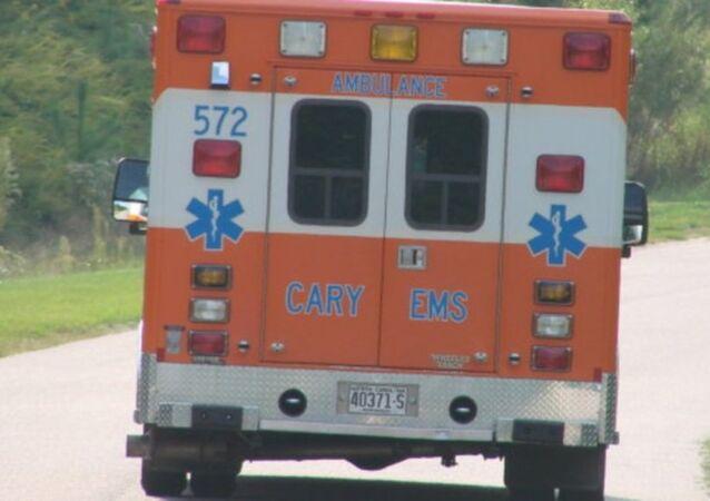سيارة إسعاف أمريكية