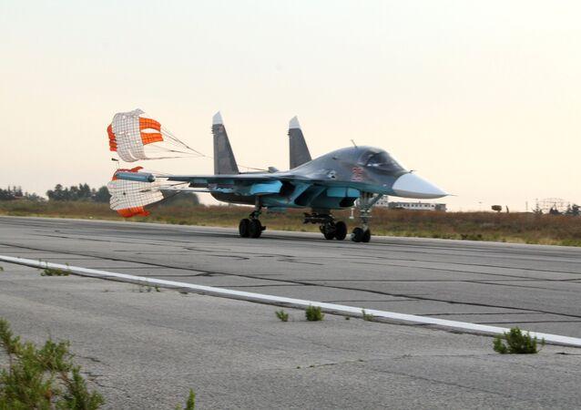 طائرة عسكرية روسية في سوريا