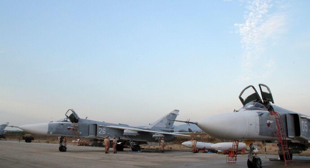 طائرات مقاتلة روسية في سوريا