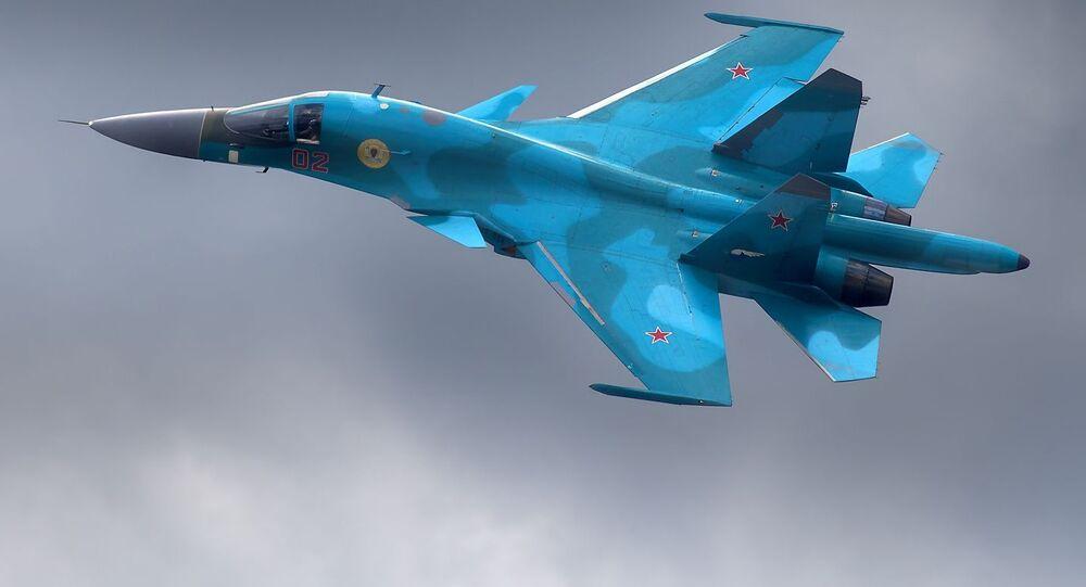 المقاتلة القاذفة سو- 34
