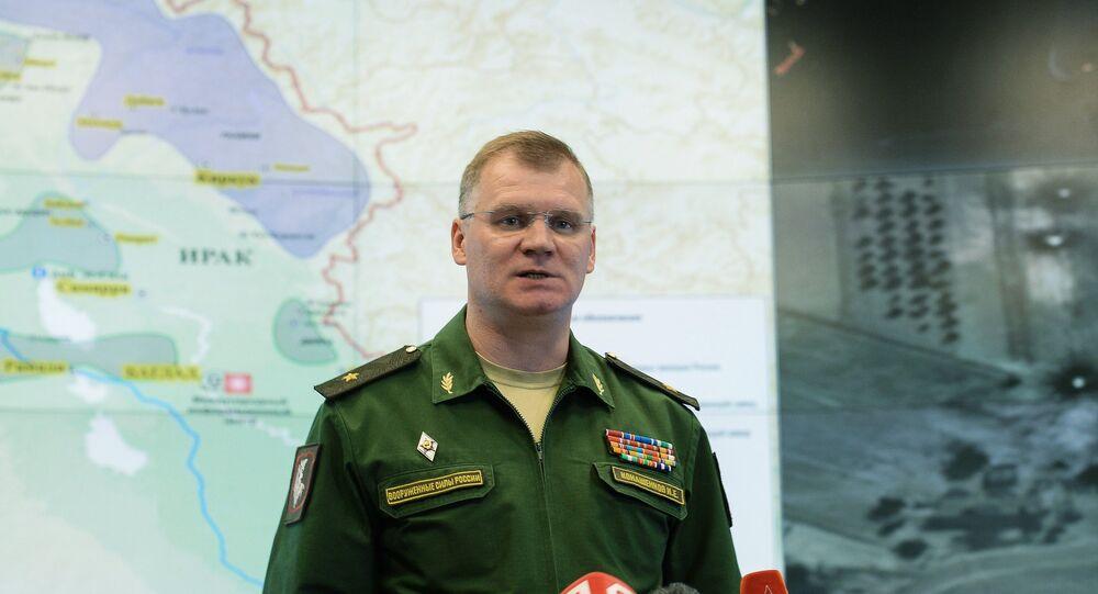 الناطق الرسمي باسم وزارة الدفاع الروسية ، اللواء إيغور كوناشينكوف