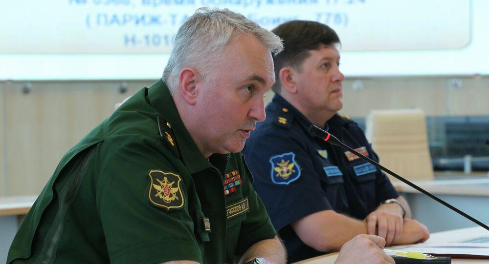 آمر إدارة العمليات في هيئة الأركان العامة الروسية، الفريق أول أندريه كارتابولوف