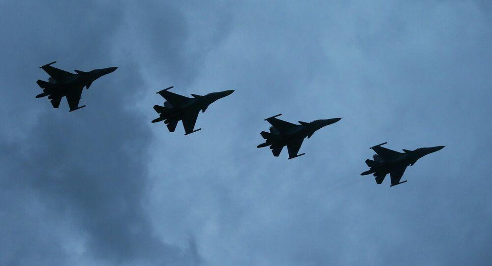 طائرات روسية من طراز سو-34