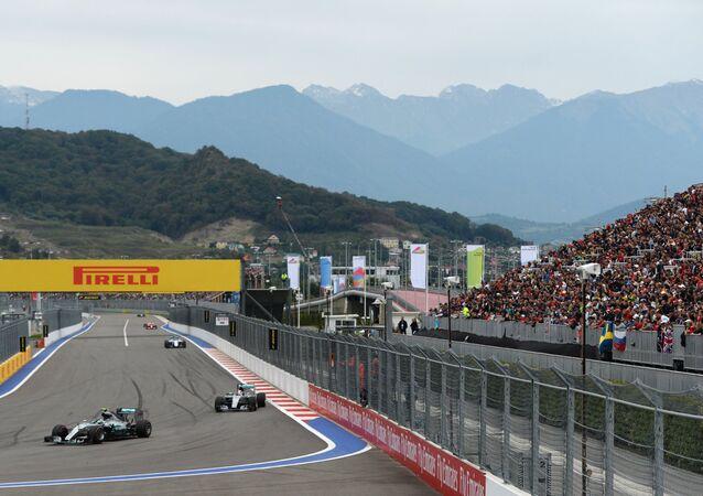 جائزة روسيا الكبرى لـفورمولا-1 في سوتشي