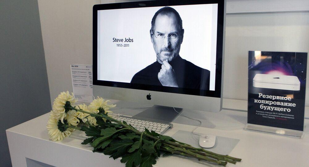 مؤسس شركة آبل ستيف جوبز