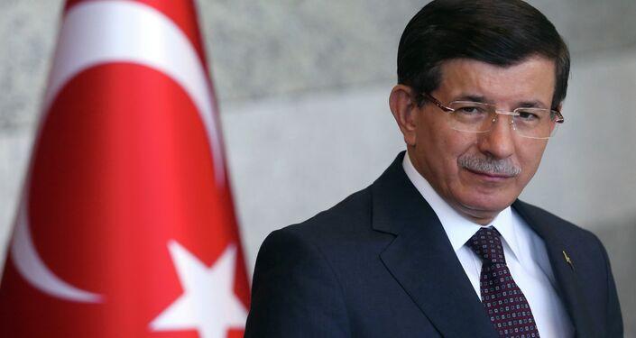 رئيس الوزراء التركي احمد داوود أوغلو