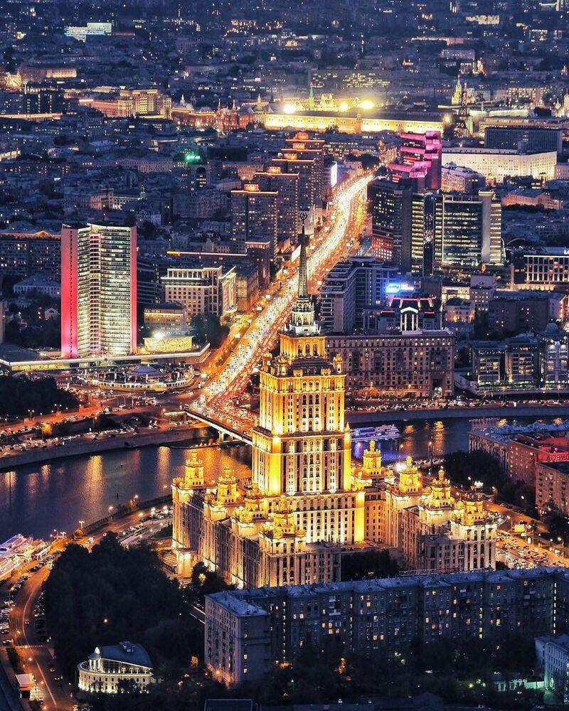 موسكو فى المساء
