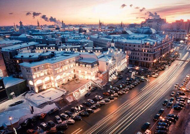 شوارع موسكو