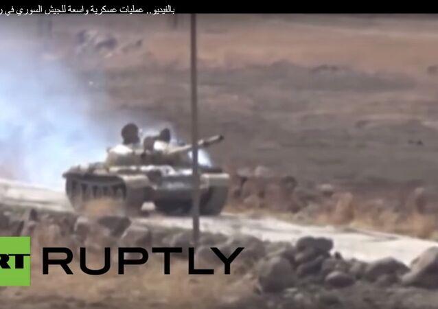عمليات عسكرية واسعة للجيش السوري في ريف اللاذقية