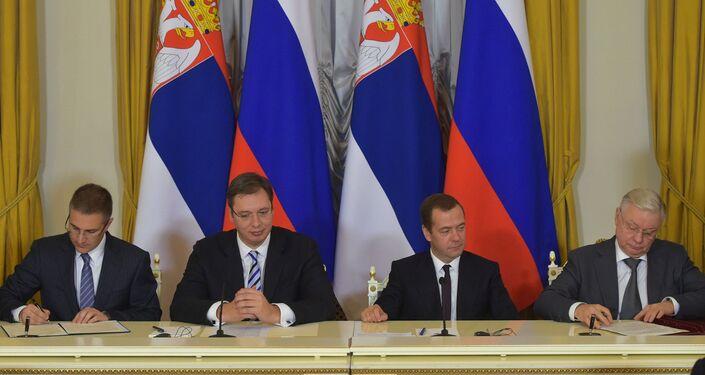 روسيا صربيا