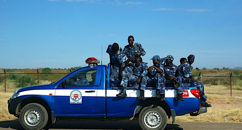 جنود سودانيون