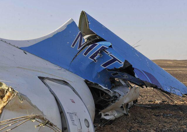 تحطم الطائرة الروسية فى مصر