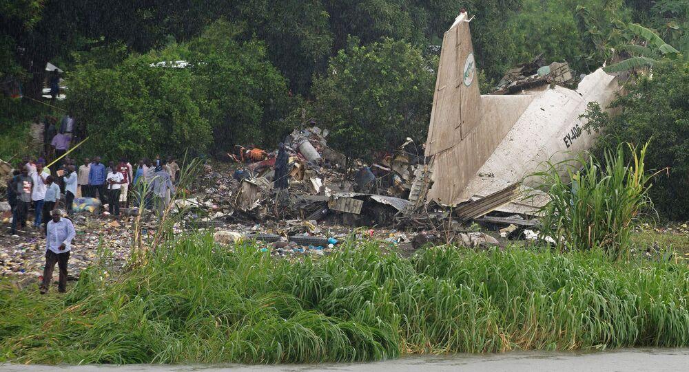 تحطم طائرة في السودان