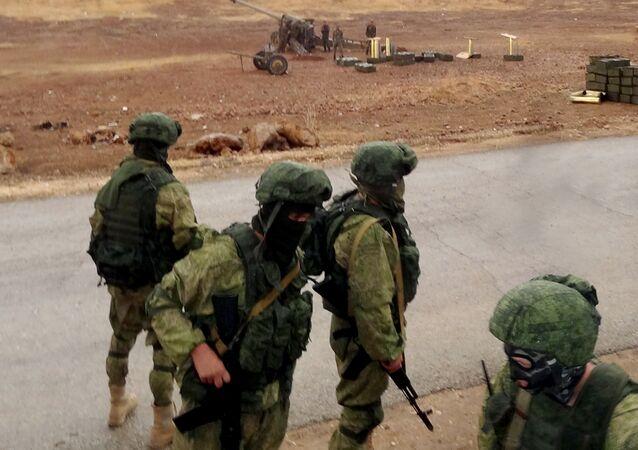 جنود روس في اللاذقية