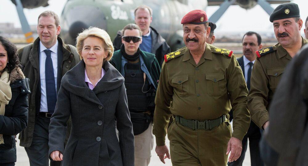 وزيرة الدفاع الألمانية  أورسولا فون دير لاين