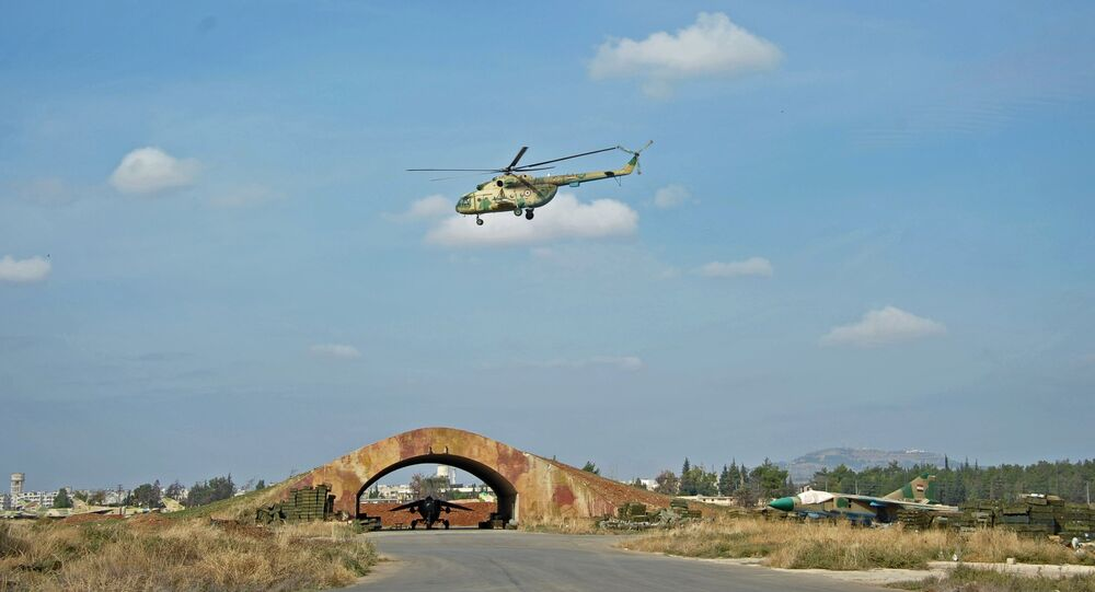 مطار عسكري سوري