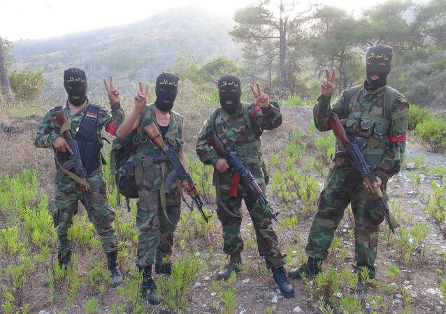 وحدات الجيش السوري في سلمى
