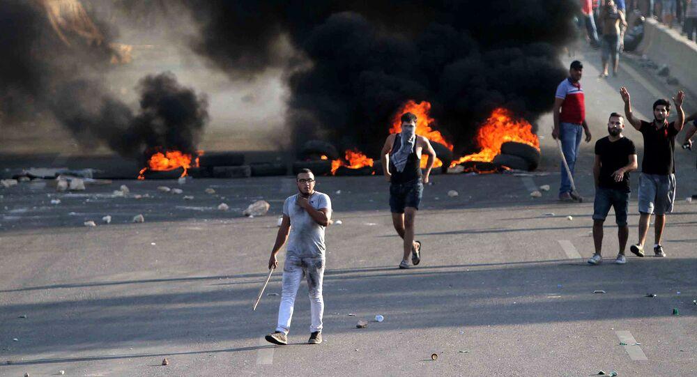 انفجار في بيروت