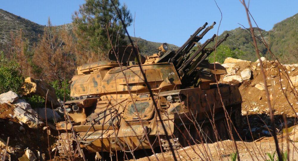 وحدات الجيش السوري في اللاذقية