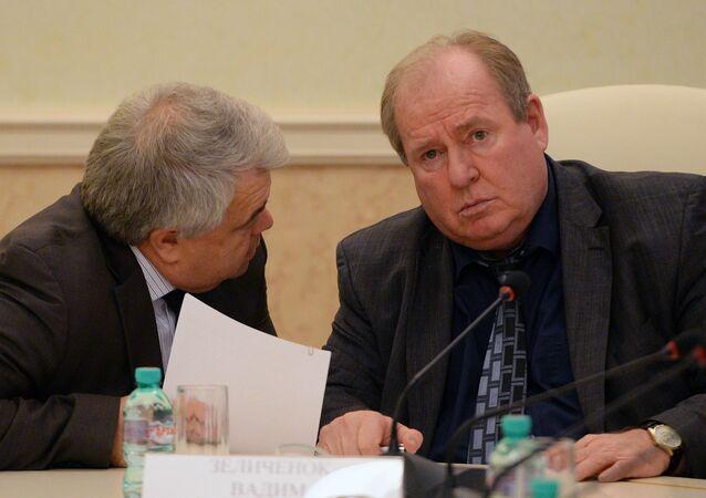 فاديم زيلينتشونوك، القائم بأعمال رئيس الاتحاد الروسي لألعاب القوى