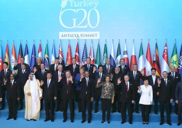 قمة العشرين في تركيا