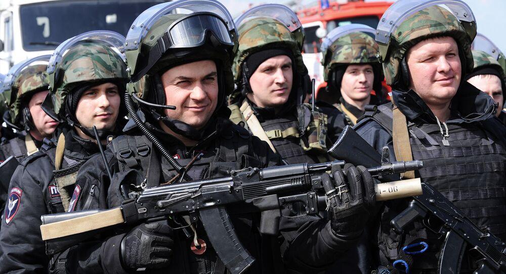 قوات وزارة الداخلية الروسية