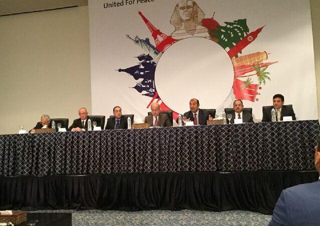 مؤتمر صحفي للحكومة المصرية ـ شرم الشيخ