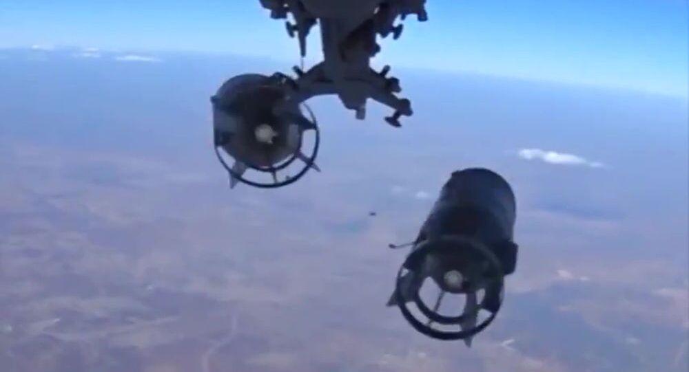 قنابل الطائرات الروسية