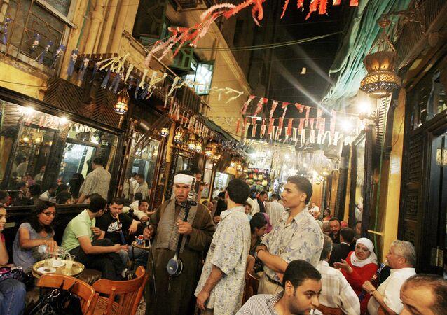 مقهى الفيشاوي في القاهرة - صورة أرشيفية