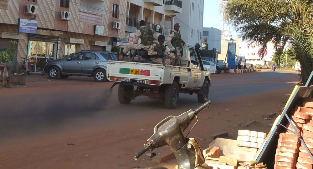احتجاز الرهائن في مالي