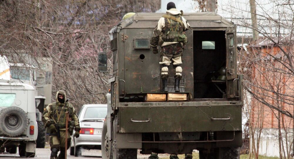عملية أمنية في نالتشيك ضد ارهابيين