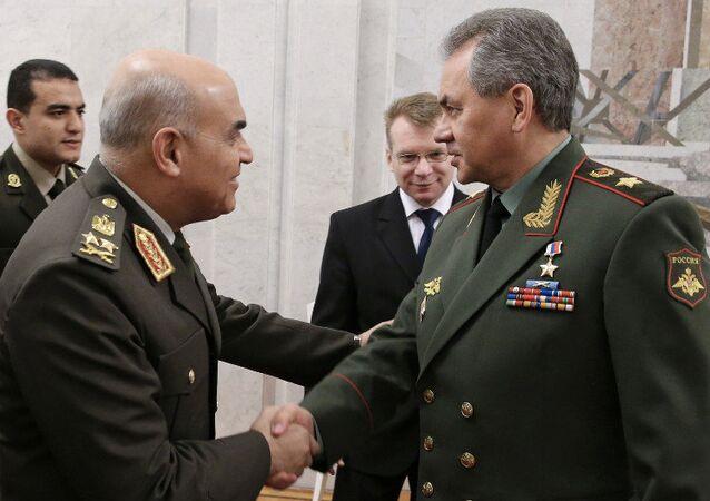 وزيرا الدفاع الروسي والمصري