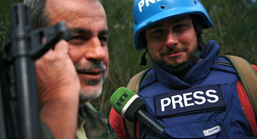 استهداف الصحافيين الروس في سوريا